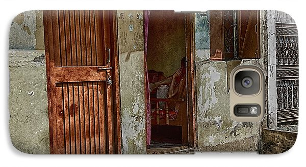 Galaxy Case featuring the photograph Open Door by John Hoey