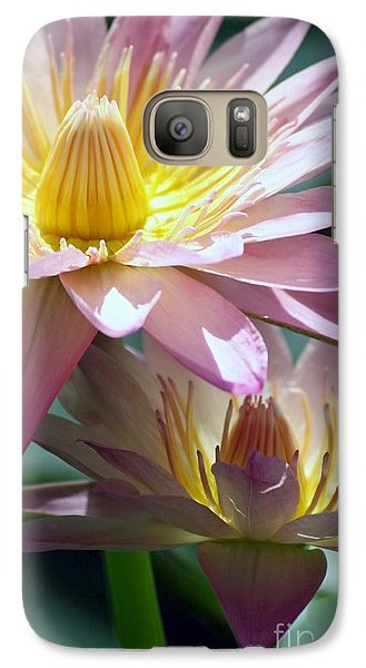 Galaxy Case featuring the photograph Open Heart by Mary Lou Chmura