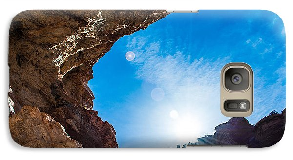 Galaxy Case featuring the photograph Open Promise by Rhys Arithson