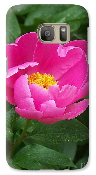 Galaxy Case featuring the photograph Peony  by Eunice Miller