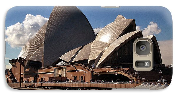 Galaxy Case featuring the photograph Opera House Famous by John Swartz