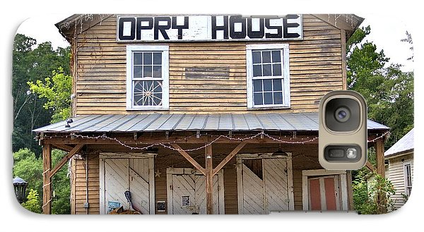 Galaxy Case featuring the photograph Opry House - Square by Gordon Elwell