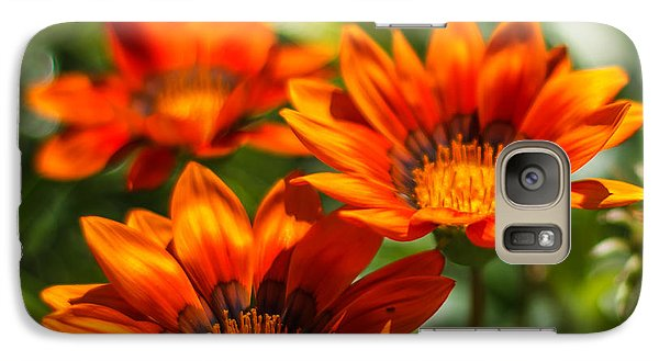 Galaxy Case featuring the photograph Orange Flowers by Jane Luxton