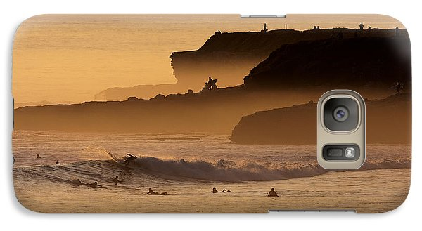 Galaxy Case featuring the photograph Orange Glow by Paul Topp