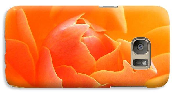 Galaxy Case featuring the photograph Orange Sherbet by Deb Halloran