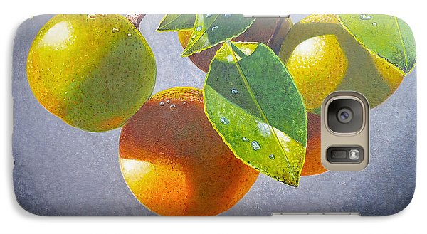Mango Galaxy S7 Case - Oranges by Carey Chen