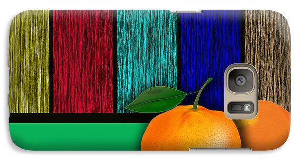 Oranges  Galaxy Case by Marvin Blaine
