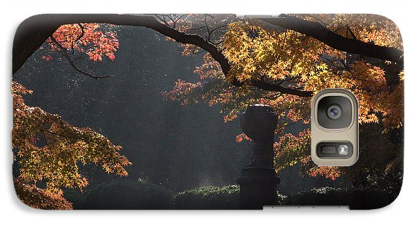 Galaxy Case featuring the photograph Orangish by Steven Macanka