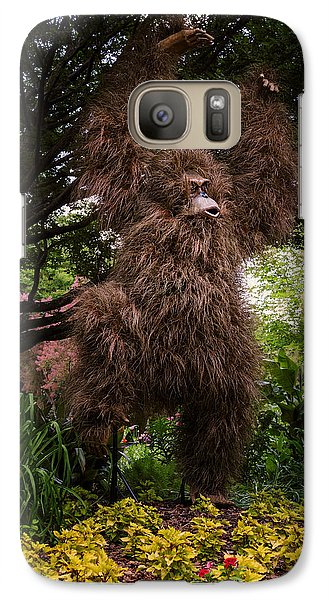 Orangutan Galaxy S7 Case - Orangutan by Joan Carroll