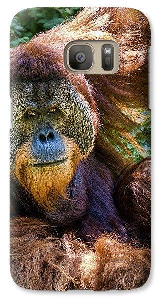 Galaxy Case featuring the photograph Orangutan by Rob Amend