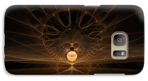 Galaxy Case featuring the digital art Orb by GJ Blackman