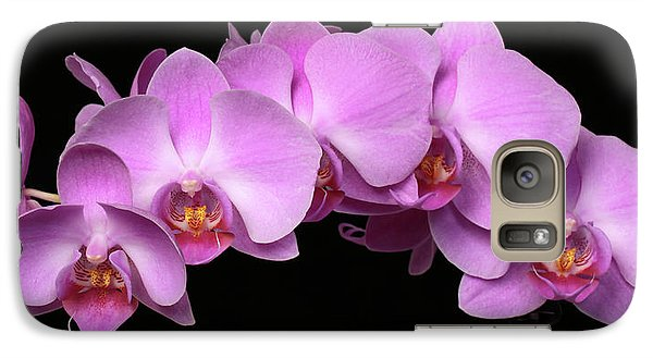 Galaxy Case featuring the photograph Orchid Arch by Harold Rau