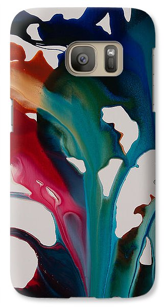 Galaxy Case featuring the photograph Orchid C by Sherry Davis