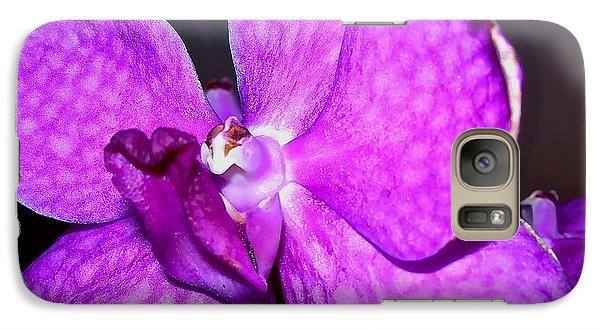 Galaxy Case featuring the photograph Orchid From Art Gallery by Randy Rosenberger