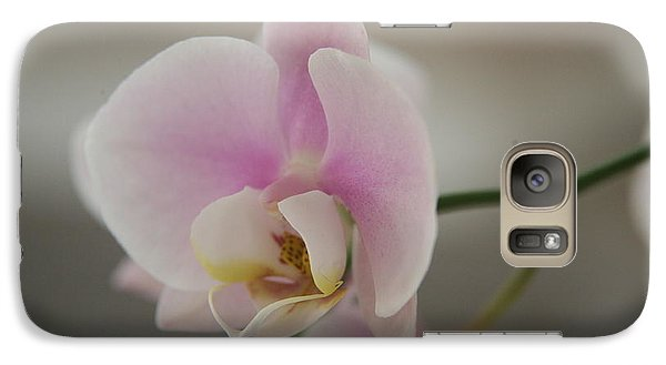 Galaxy Case featuring the photograph Orchid by Lynn England