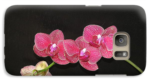 Galaxy Case featuring the photograph Orchid by Shawn Hughes
