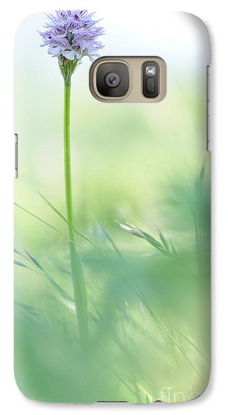Galaxy Case featuring the photograph Orchid by Simona Ghidini