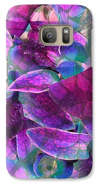 Galaxy Case featuring the photograph Orchid Splash by Diane Alexander