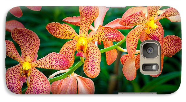 Orchids Galaxy S7 Case by Inge Johnsson
