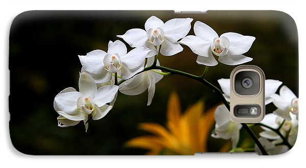 Galaxy Case featuring the photograph Orchids by John Freidenberg