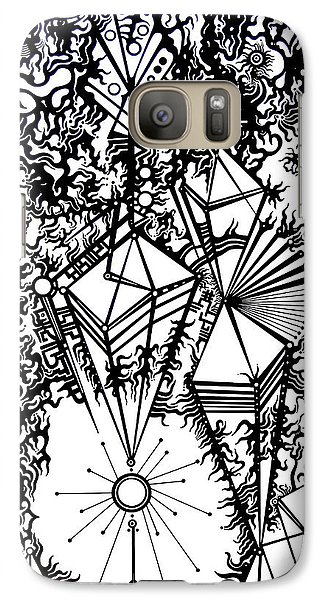Galaxy Case featuring the photograph Order And Chaos by Devin  Cogger