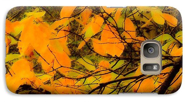 Galaxy Case featuring the digital art Ore Leaves by Kristen R Kennedy