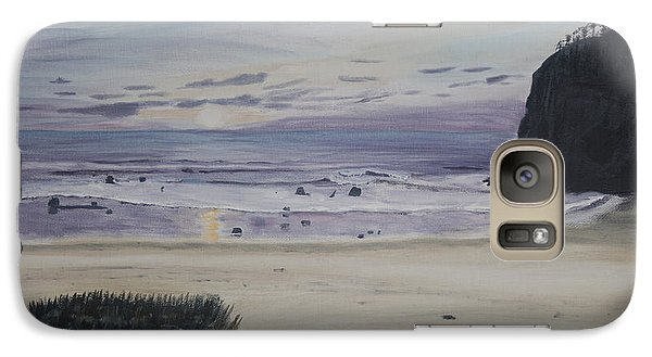 Galaxy Case featuring the painting Oregon Coast by Ian Donley