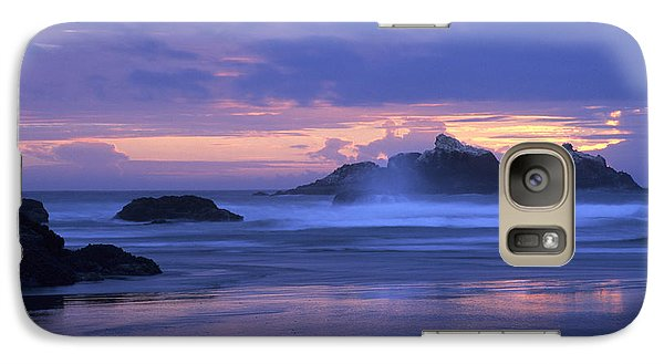 Oregon Coast Sunset Galaxy S7 Case