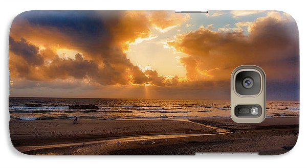 Galaxy Case featuring the photograph Oregon Sunset by Dennis Bucklin