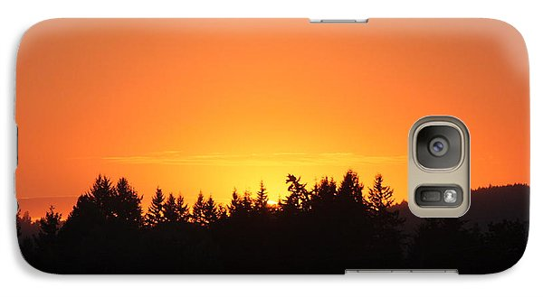 Galaxy Case featuring the photograph Oregon Sunset by Melanie Lankford Photography