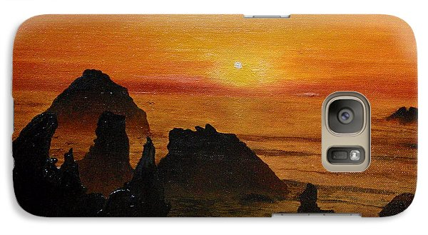 Oregon Sunset Galaxy S7 Case