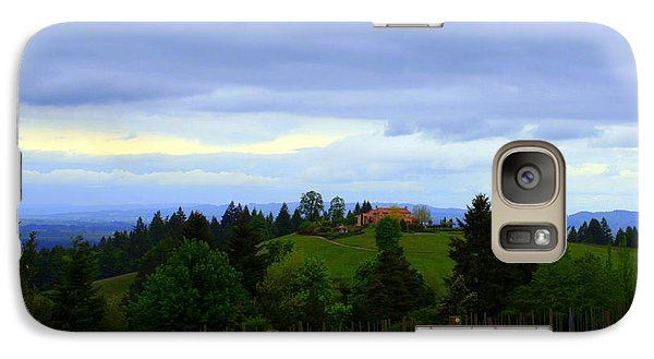 Galaxy Case featuring the photograph Oregon Wine Country by Debra Kaye McKrill