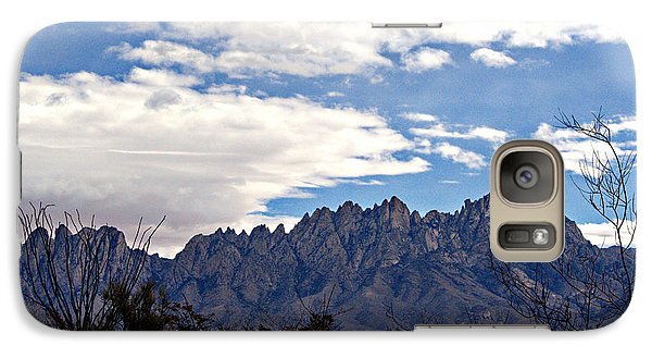 Galaxy Case featuring the photograph Organ Mountain Landscape by Barbara Chichester