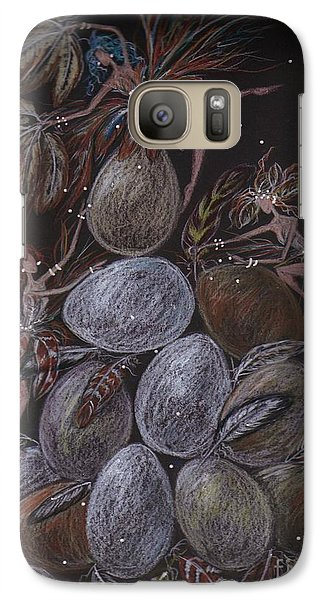 Galaxy Case featuring the drawing Organic by Dawn Fairies