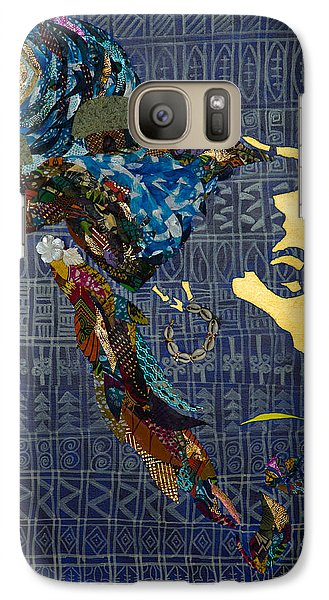 Galaxy Case featuring the tapestry - textile Ori Dreams Of Home by Apanaki Temitayo M