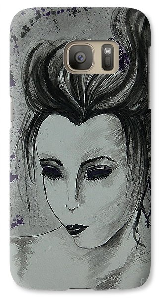 Galaxy Case featuring the painting Orient Express by Tamyra Crossley