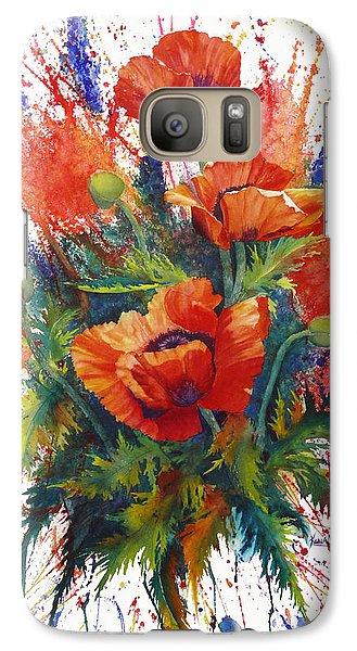 Galaxy Case featuring the painting Oriental Overture by Karen Mattson
