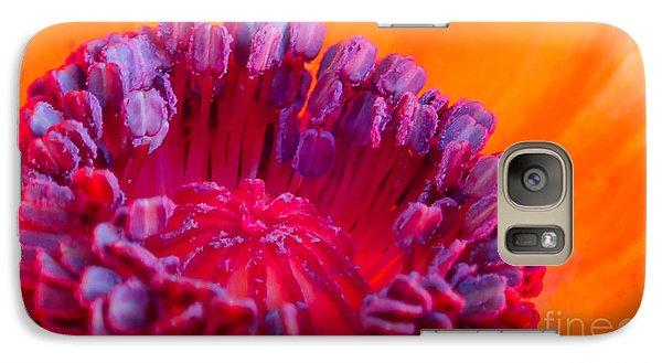 Oriental Poppy Galaxy S7 Case