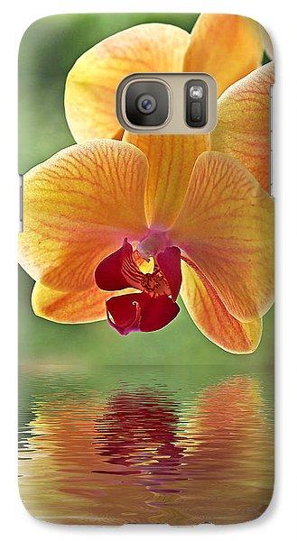 Oriental Spa - Square Galaxy S7 Case