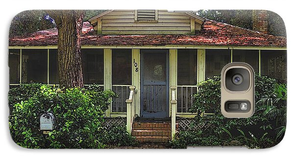 Galaxy Case featuring the photograph Original Beach Cottage #108 by Laura Ragland