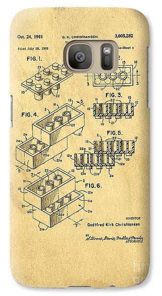 Original Us Patent For Lego Galaxy S7 Case