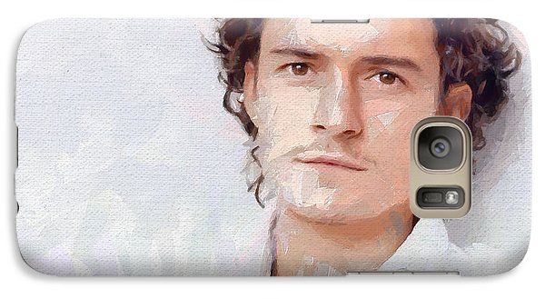 Orlando Bloom Galaxy S7 Case - Orlando by Bogus Florjan