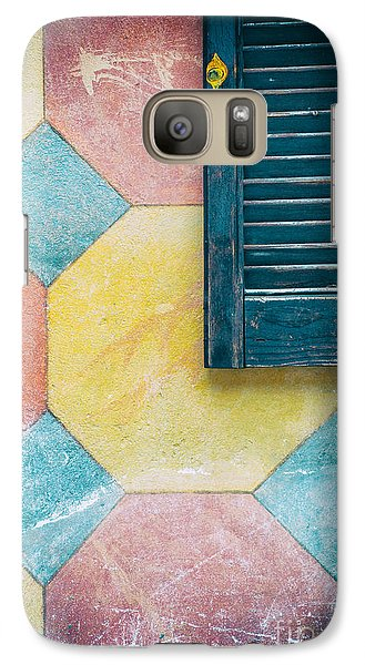 Ornate Wall With Shutter Galaxy S7 Case by Silvia Ganora