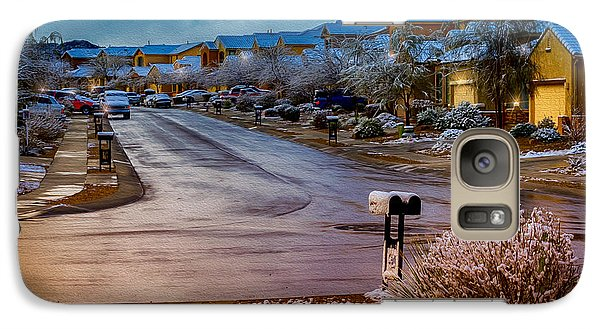 Oro Valley Winter No.54 Galaxy S7 Case