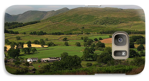 Galaxy Case featuring the photograph Orrest Head Cumbria England by Graham Hawcroft pixsellpix