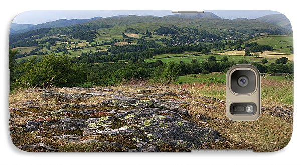 Galaxy Case featuring the photograph Orrest Head East by Graham Hawcroft pixsellpix