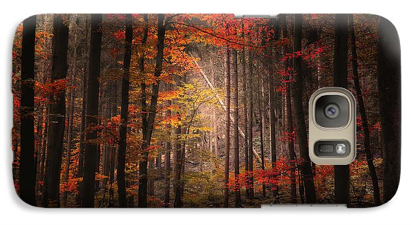 Galaxy Case featuring the photograph Orton Forest by Philippe Sainte-Laudy
