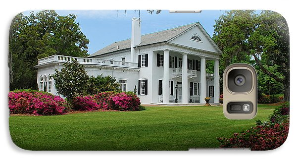 Galaxy Case featuring the photograph Orton Plantation by Bob Sample