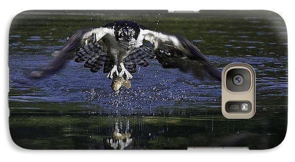 Galaxy Case featuring the photograph Osprey Bird Of Prey by David Lester