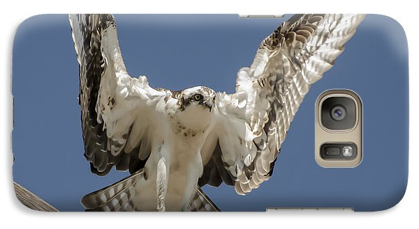 Galaxy Case featuring the photograph Osprey Landing by Dale Powell